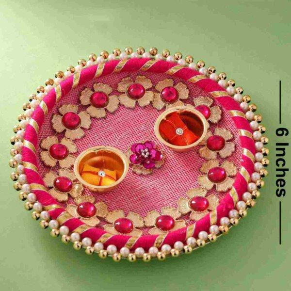 Pooja Thali (6 Inches )