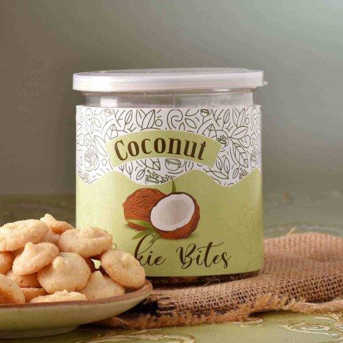 Cookies Bites Coconut Flavour (150 Gms)