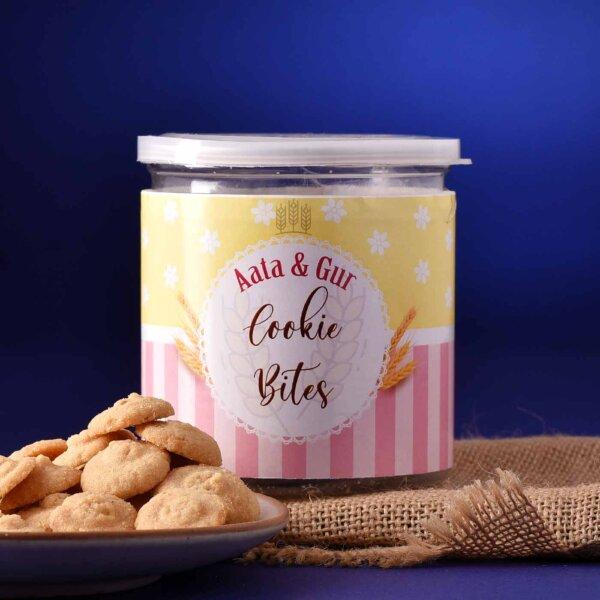 Cookies Bites Atta & Gur Flavour (150 Gms)