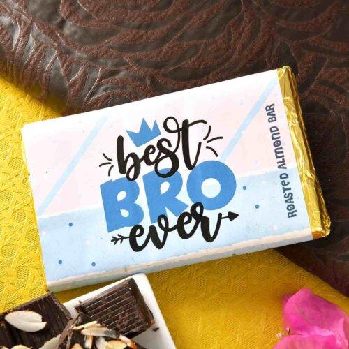 Handmade Roasted Almond Chocolate Bar? (100 Gms)