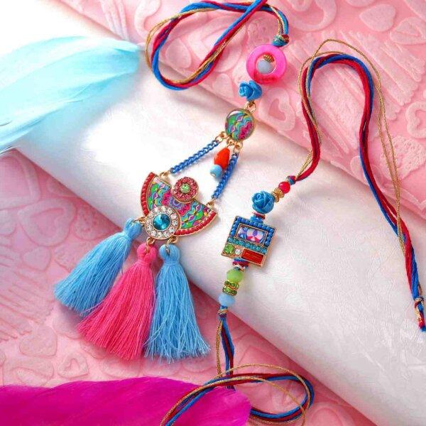 Color of Celebration Lumba Rakhi