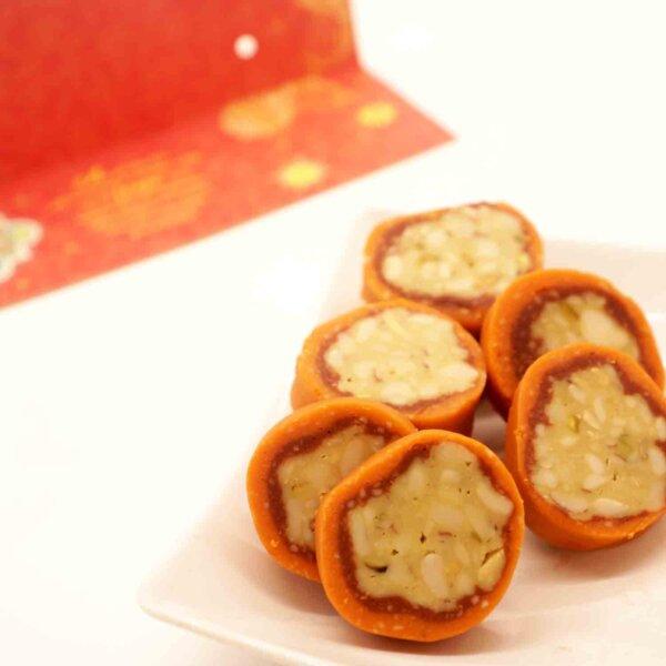 Orange dry Fruit Cassata  450 Gms