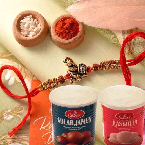 Makhan Krishna HaldiRam Gulab Jamun 1 KG and Haldiram rasgulla 1 KG