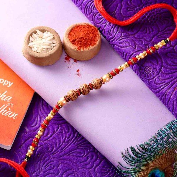 Designer Beads Rakhi