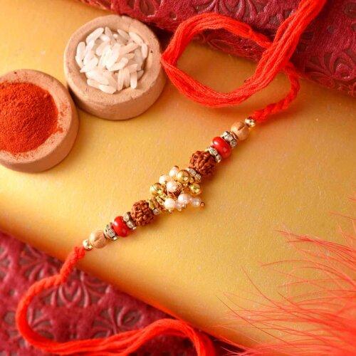 Rudraksha Rakhi Life Spirit NO Gas Perfume Body Spray Combo