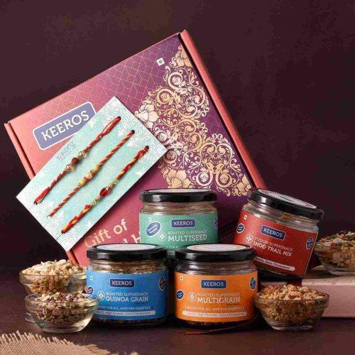 Health in a Box Rakhi Hamper