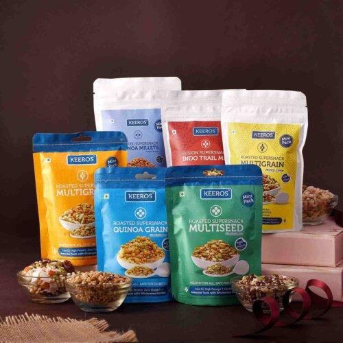Little health gift basket with Rakhi