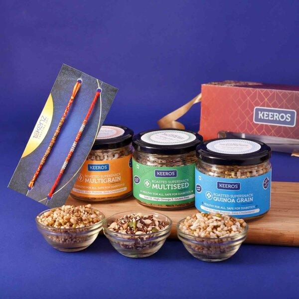 Basket of Delight with Rakhi