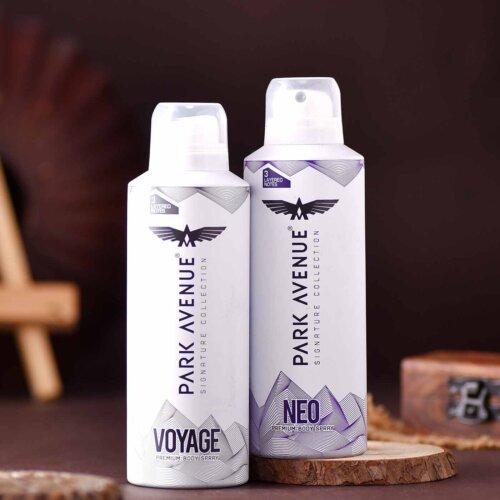 Set of 2 Rudraksha Threads & Park AvenueSignature Collection Pefume Body Spray Hamper